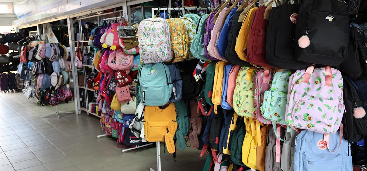Большой выбор рюкзаков и сумок к новому учебному году*
