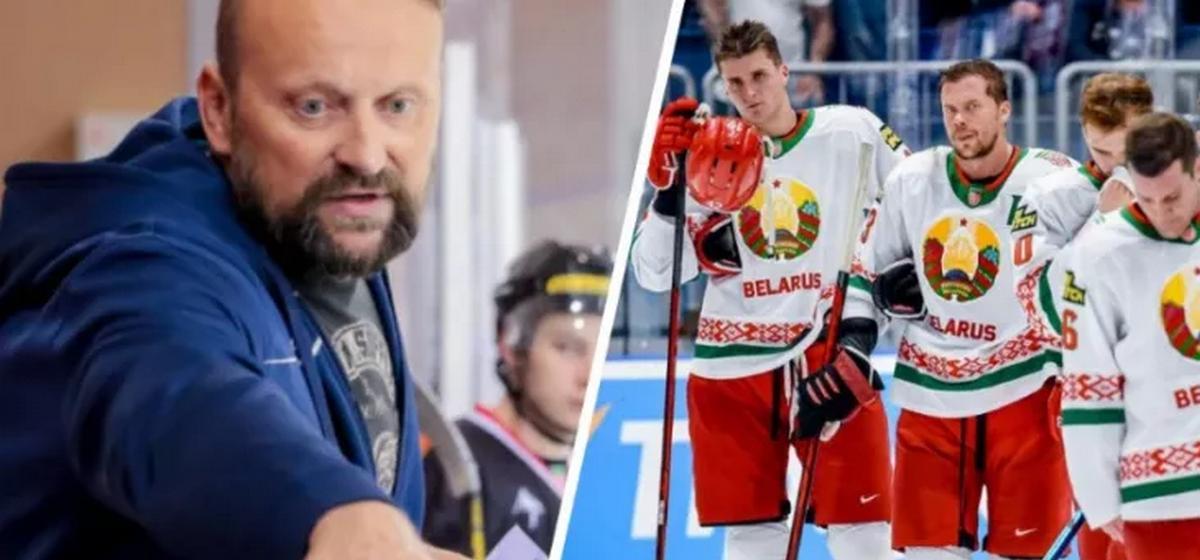 «Это же карма» — экс-тренер барановичской команды о том, почему сборная по хоккею не попала на Олимпиаду. Ему ответил Грабовский