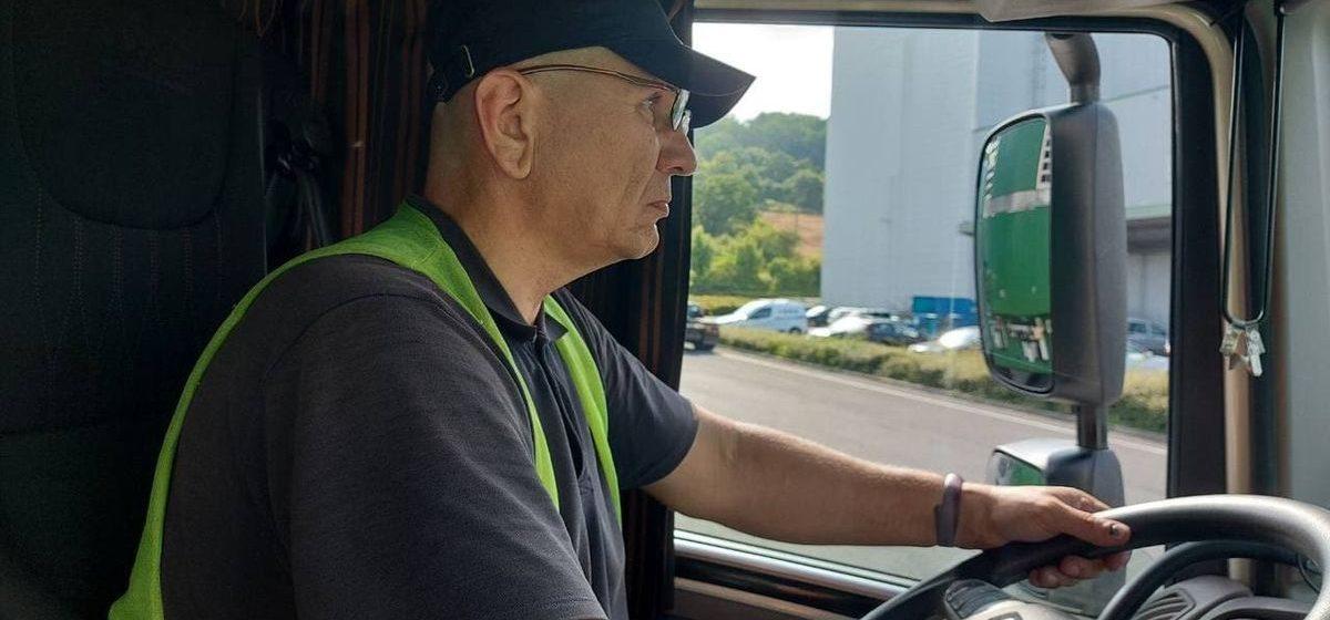 Дальнобойщик рассказал, почему сменил барановичское такси на фуру в Литве, о штрафах и жизни в дороге