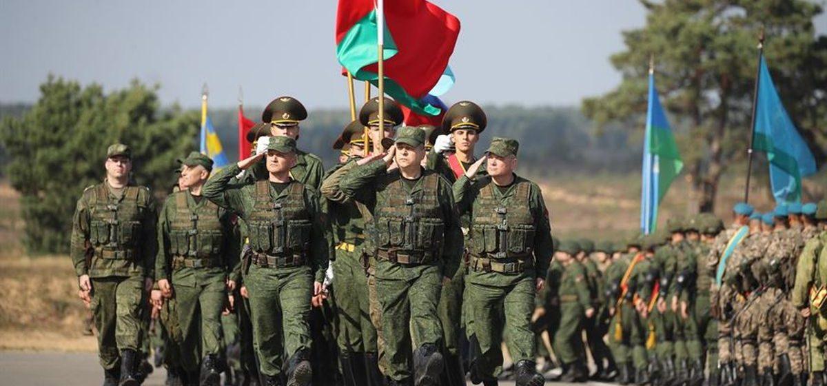 Белорусско-российские учения «Запад-2021» начались на полигоне под Барановичами