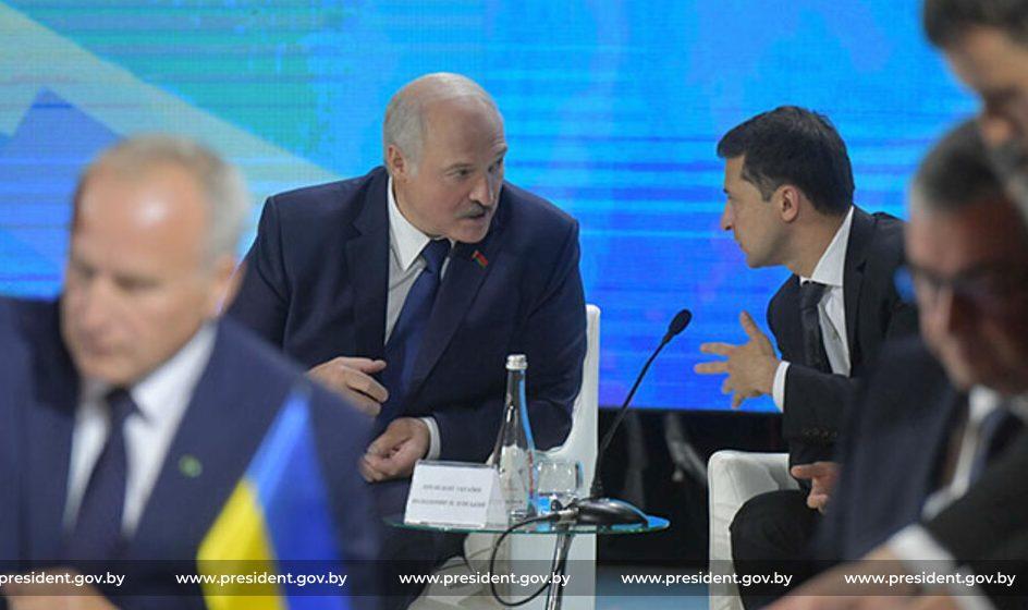 В чем Лукашенко упрекает Зеленского?