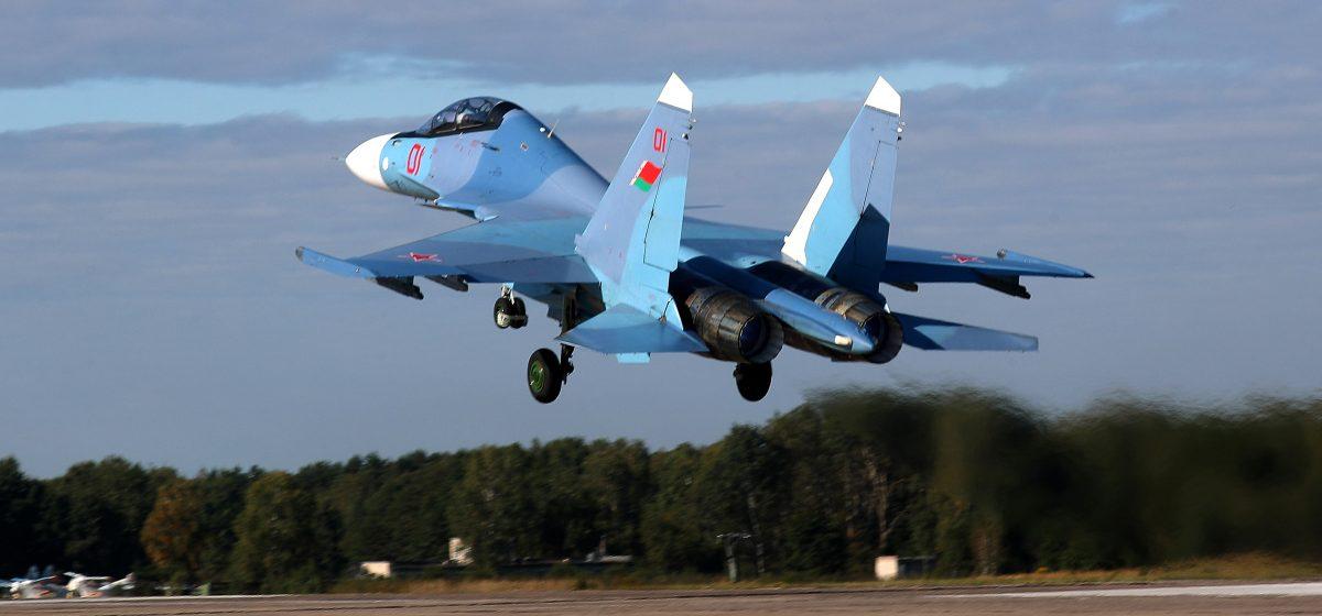 Как тренируются барановичские летчики-истребители на учении «Запад-2021». Фотофакт