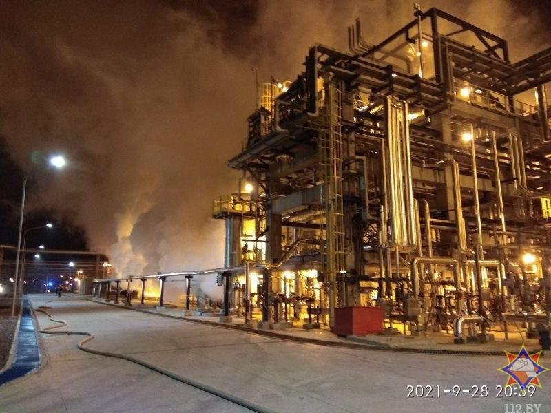 пожар на Нафтане