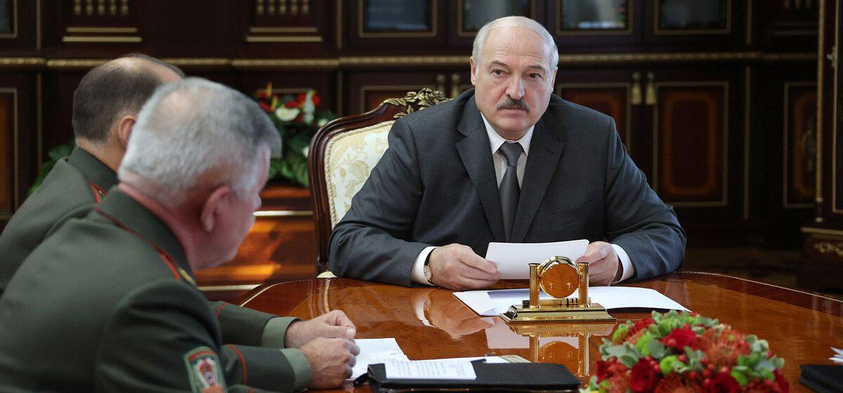 Лукашенко: У нас открывается новый фронт — Украина