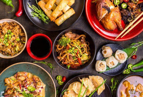 Доставка азиатской кухни