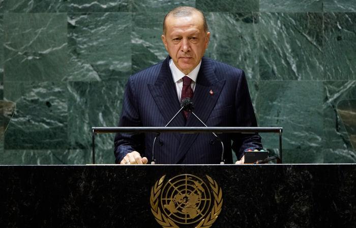 Эрдоган на Генеральной Ассамблее ООН обвинил Россию в аннексии Крыма
