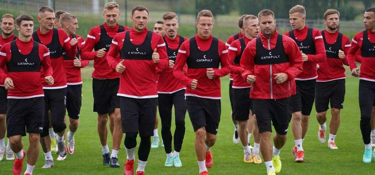Сборная Беларуси по футболу минимально уступила Чехии в квалификации к чемпионату мира