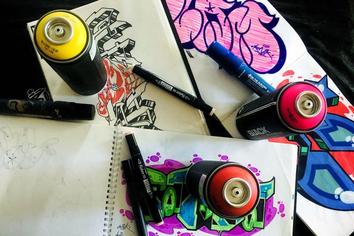 граффити краска