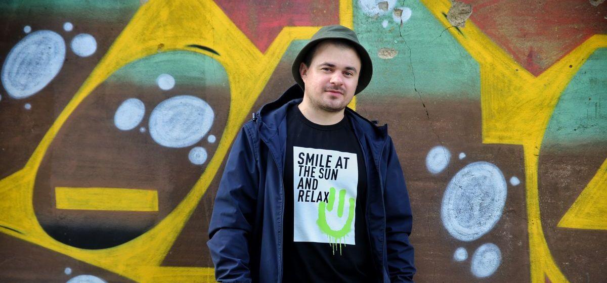 «Это не вандализм, это – искусство». Парень, разрисовавший здание МЧС в Барановичах, о своем увлечении граффити