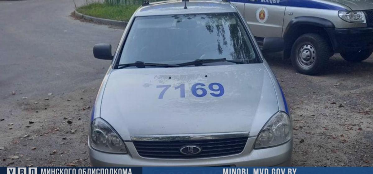 Двое пьяных борисовчан облили пивом милицейскую машину. Возбуждено уголовное дело