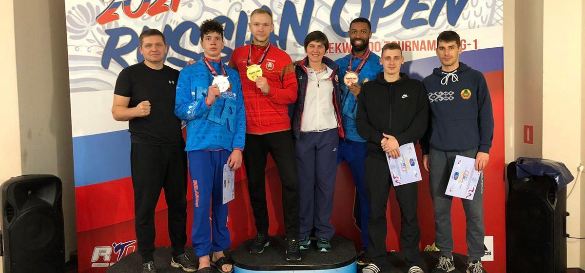 Таэквондист из Барановичей успешно выступил на рейтинговом турнире в Москве