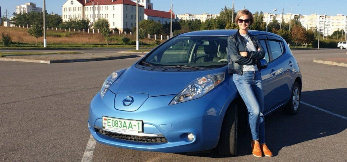Сколько можно сэкономить, если пересесть с бензиновой машины на электрическую, рассказала жительница Барановичей