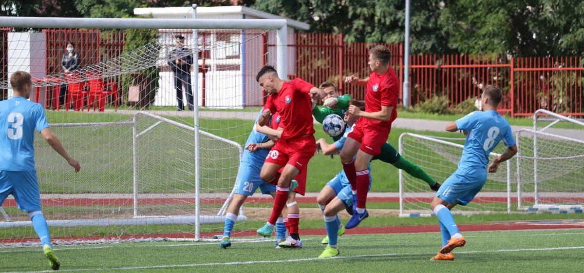 Чем закончилась встреча ФК «Барановичи» с пинской «Волной» и что мешает барановичской команде играть смелее?