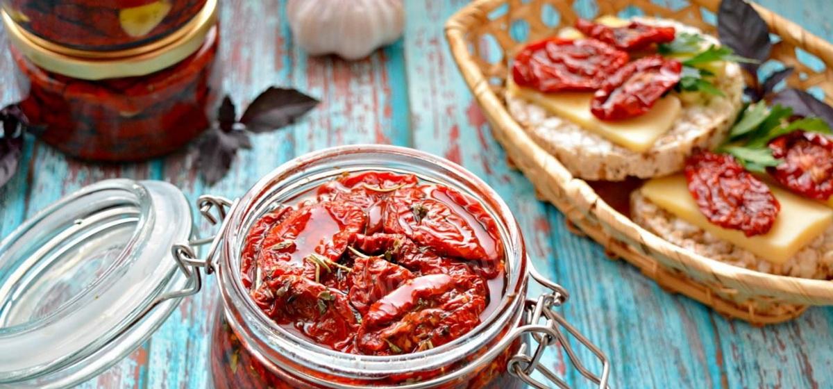 Как приготовить потрясающие вяленые помидоры. Видео