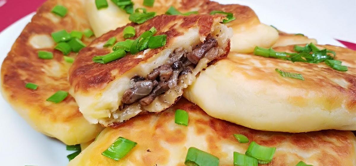 Вкусно и просто. Пирожки картофельные с грибами