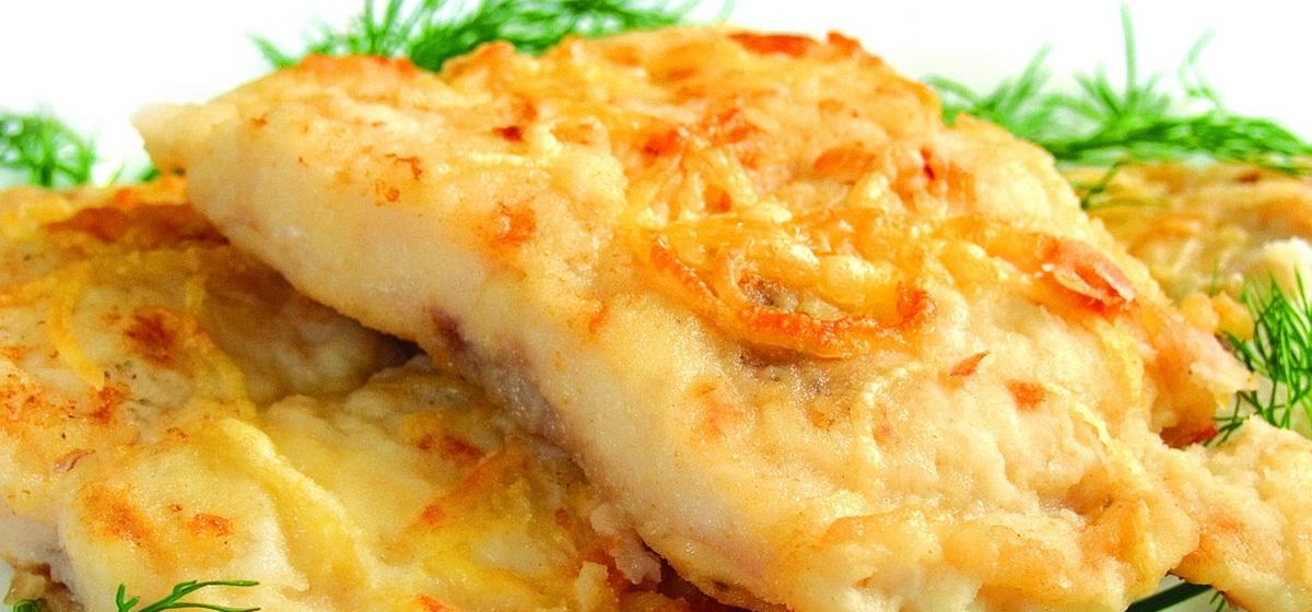 Вкусно и просто. Рыба в лyковом кляре