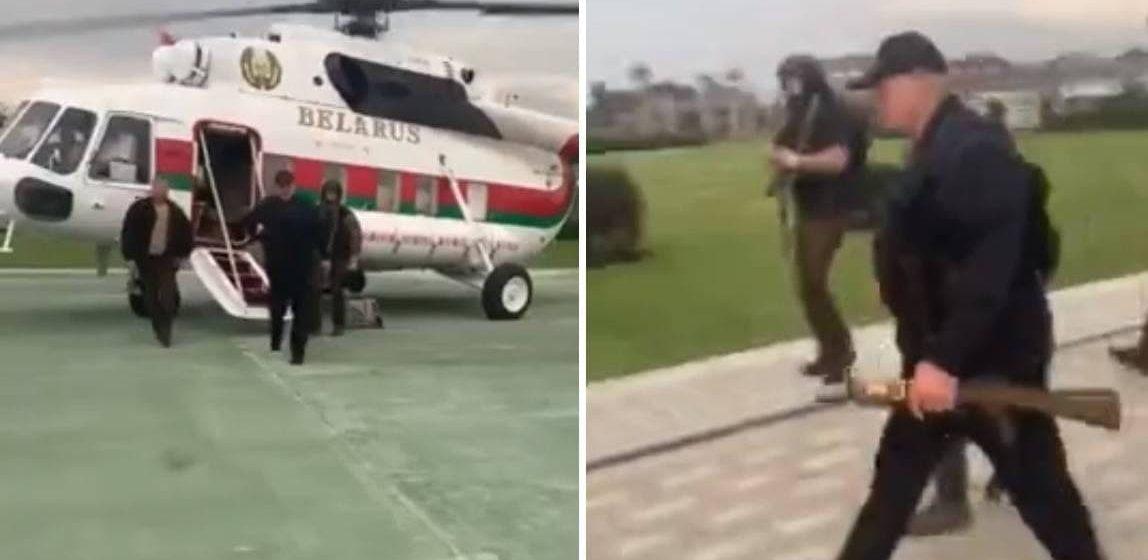 Александру Лукашенко подарили картину от личного состава Службы безопасности. Как она выглядит?