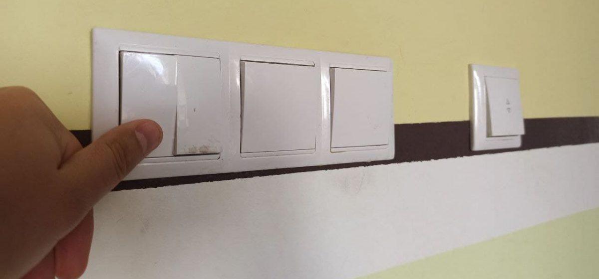 По предписанию прокуратуры в школе Барановичского района заменили выключатели
