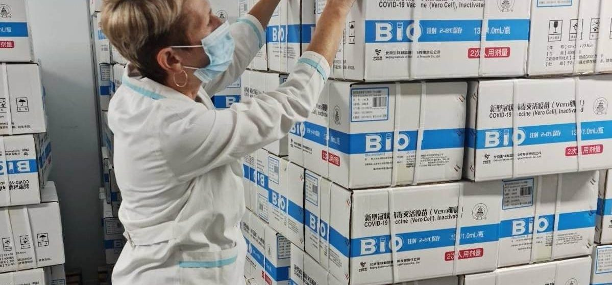 Китайскую вакцину от коронавируса передали в регионы. А Барановичам хватило?