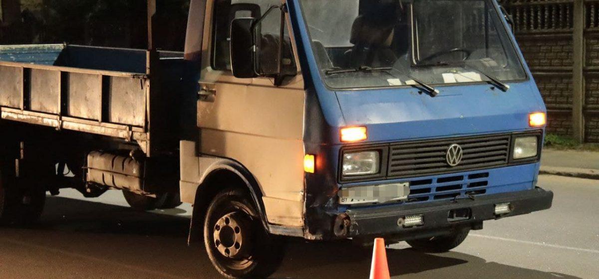 Два автомобиля столкнулись в Барановичах