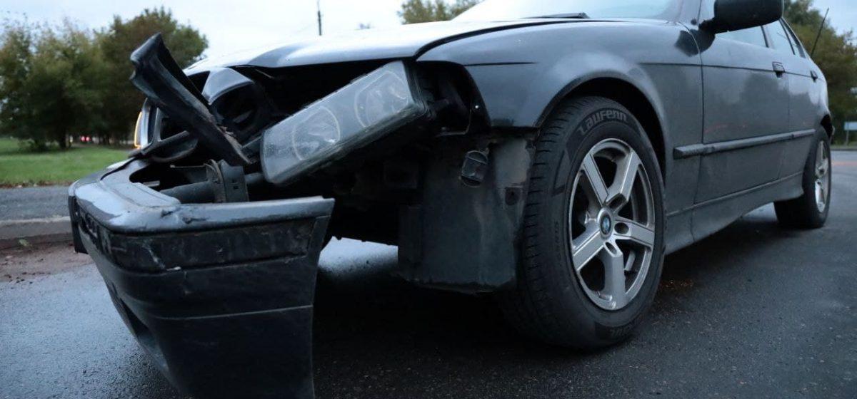 BMW и Hyundai столкнулись в Барановичах
