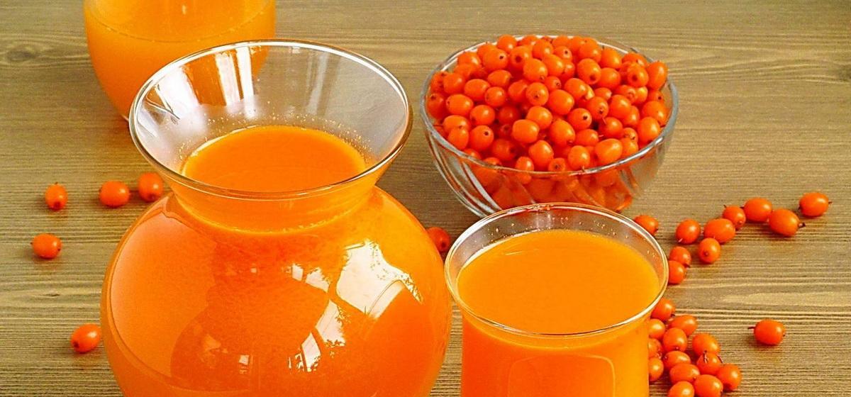 Вкусно и просто. Натуральный сок из облепихи без варки на зиму