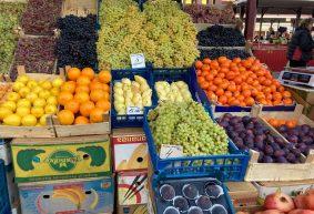 Что почем. На барановичском рынке появился тапинамбур, подешевели огурцы и бананы