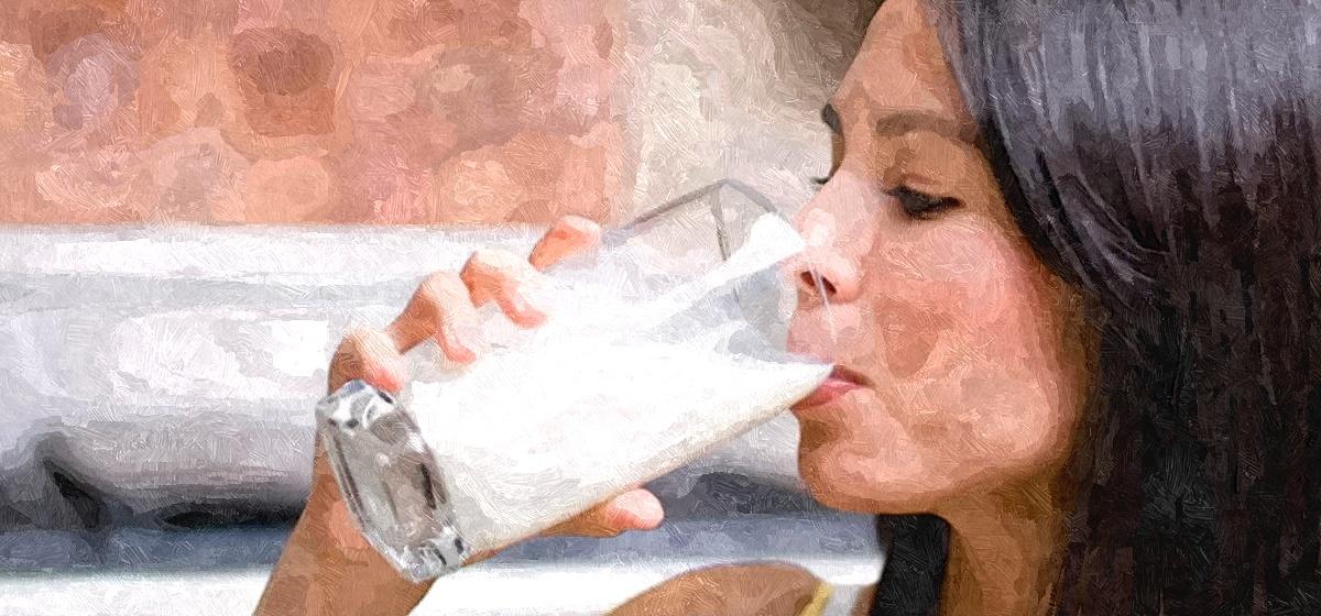 Что произойдет сорганизмом, если пить молоко каждый день