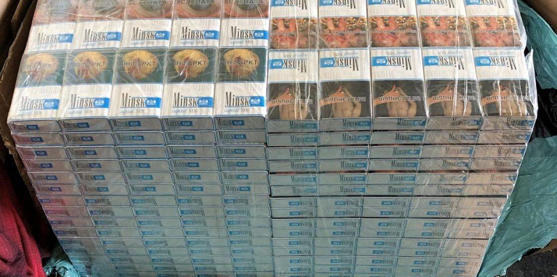 В Берлине задержали десятки тысяч белорусских сигарет, которые переправляли в Великобританию