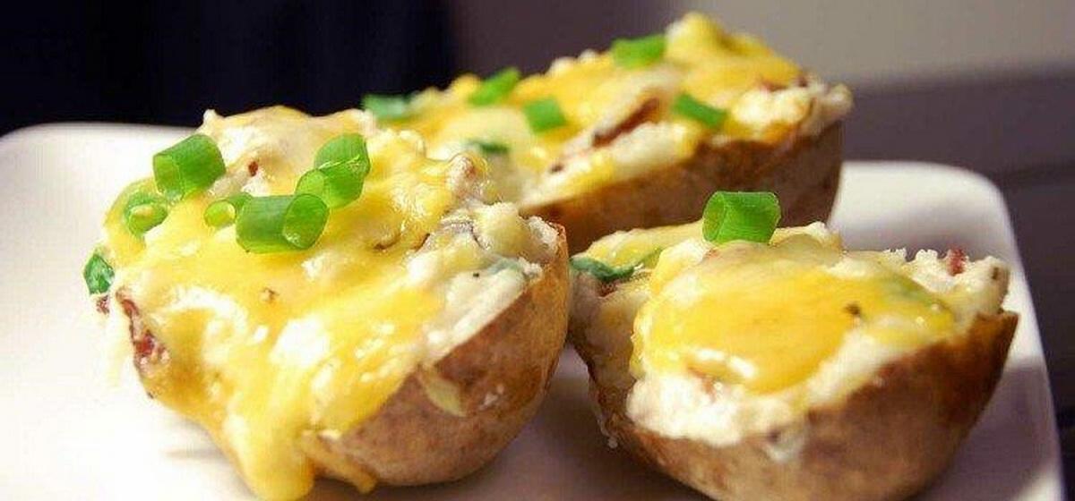Вкусно и просто. Картошка с горчицей под сыром