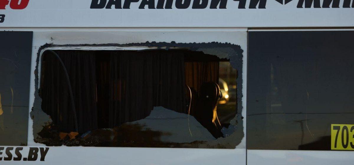 Автобус и маршрутка столкнулись в Барановичах