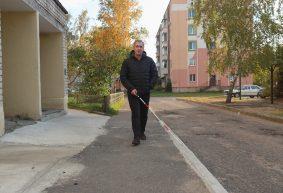 «Потерялся возле собственного подъезда». Инвалид по зрению – о том, легко ли незрячим людям жить в Барановичах