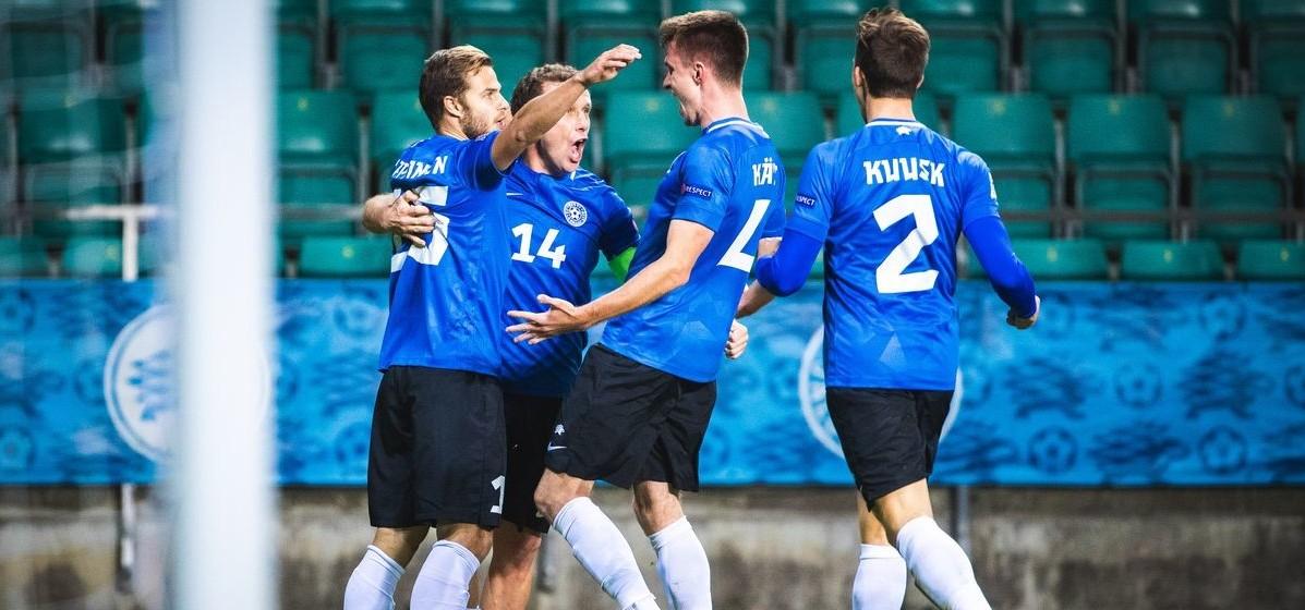 Сборная Беларуси по футболу проиграла команде Эстонии в отборе к ЧМ-2022