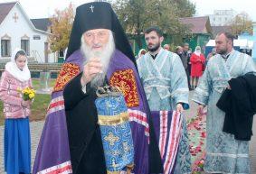Архиепископ Пинский и Лунинецкий Стефан посетил Покровский собор в Барановичах. Фоторепортаж