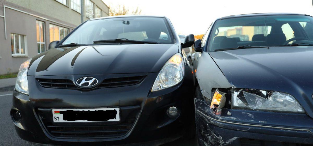 Hyundai и Honda «притерлись» друг к другу в Барановичах