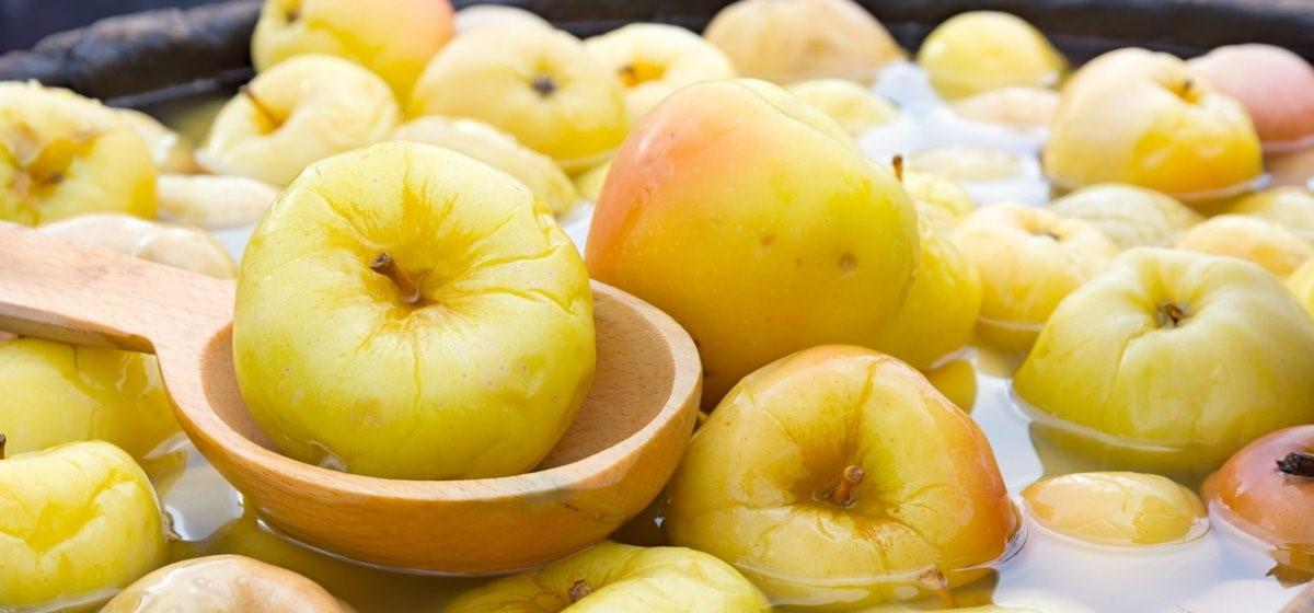 Вкусно и просто. Моченые яблоки с медом