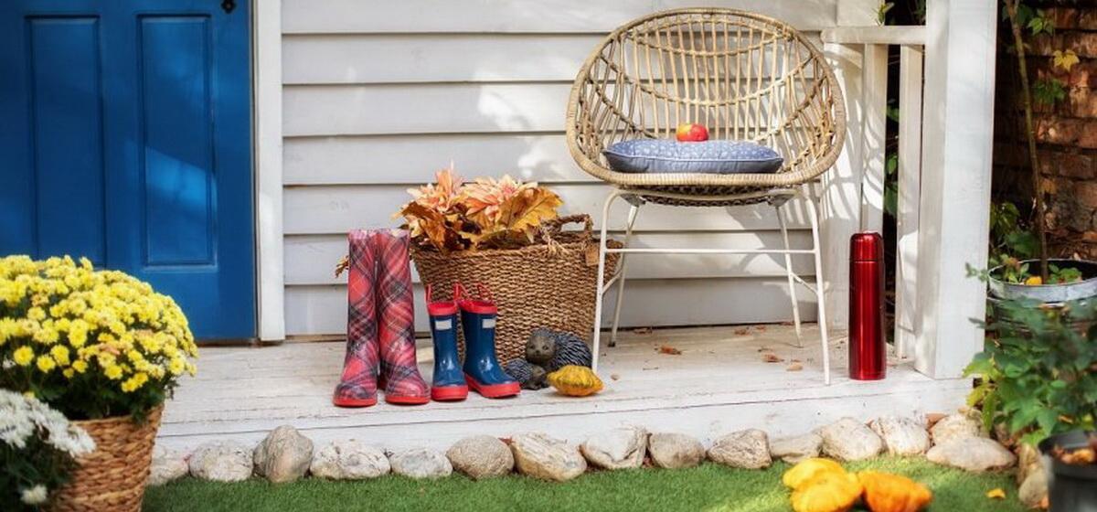 ТОП-6 простых идей в фотографиях: делаем крыльцо дома более уютным