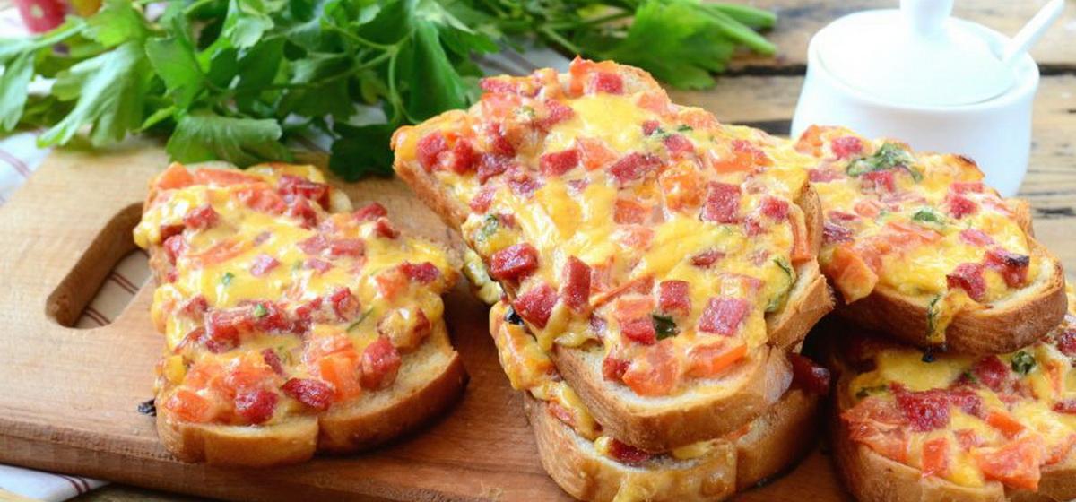 Вкусно и просто. Сочные горячие бутерброды