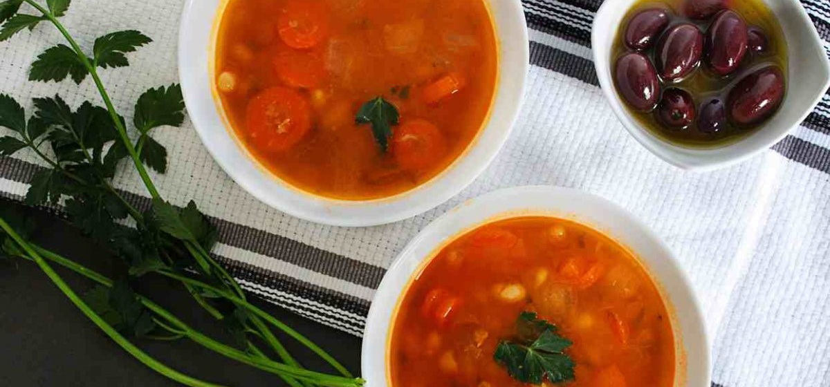 Вкусно и просто. Греческий суп «Фасолада»